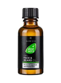 Aloe Vera Mens Essentials 2in1 Gesichts- & Bart-Ö