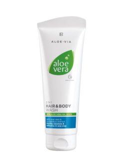 Aloe Vera 2 in 1 Haar- & Körpershampoo