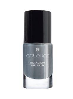 LR COLOURS True Colour Nail Polish Dark Silvergrey