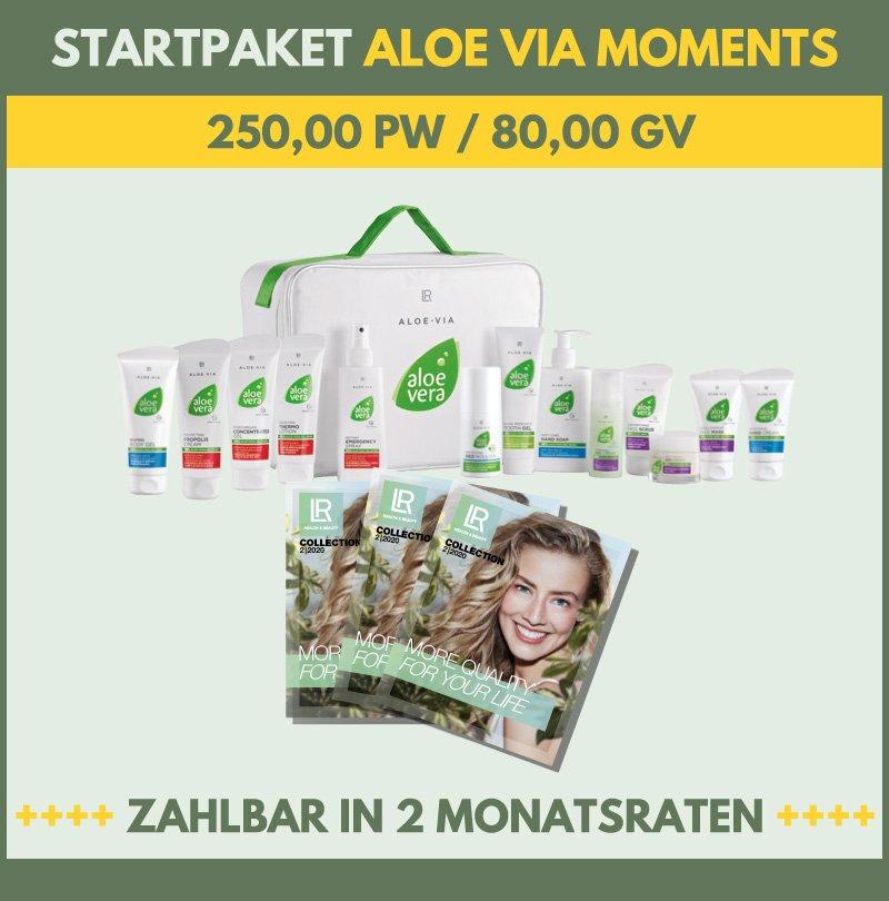 LR STARTERPAKET ALOE VIA MOMENTS