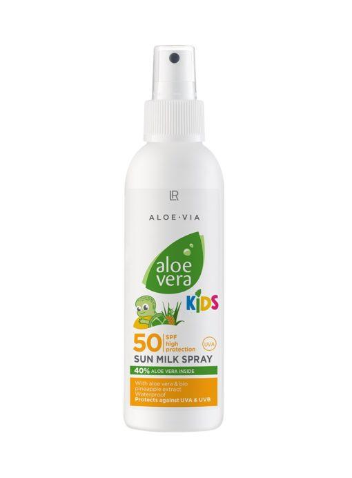 Aloe Vera Kinder Sonnenmilchspray LSF 50